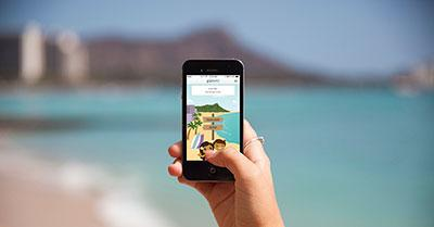 Download the GoHawaii app!